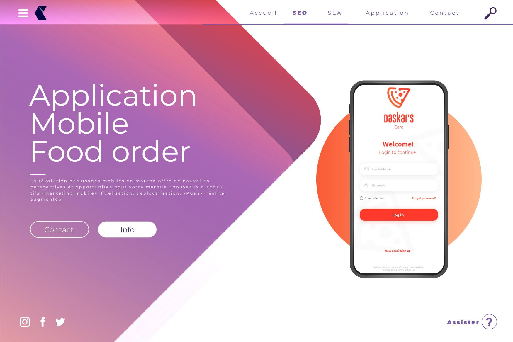 app3 creation application mobile et web icom communication digital maroc - Agence de Création Application Mobile et Web au Maroc