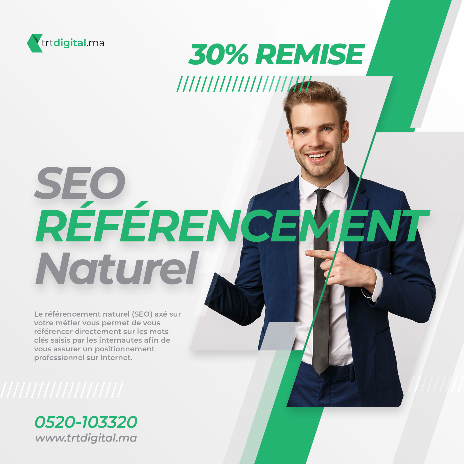 seo referencement naturel trt digital ads 2 - Nos Réalisation Communication Digitale Maroc